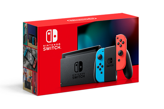 Get The New Nintendo Switch With Improved Battery Life For