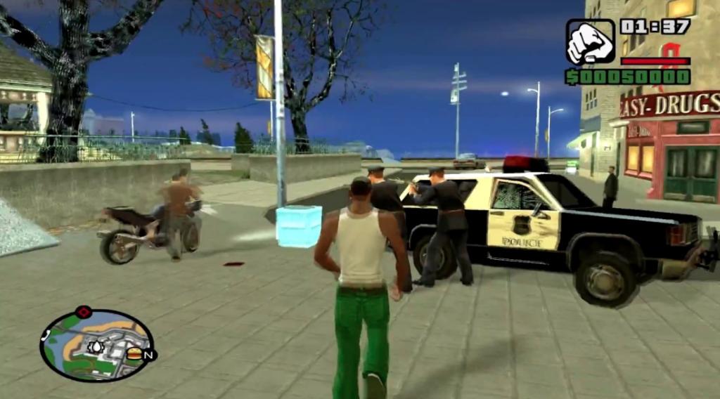 GTA San Andreas iOS/APK Version Full Game Free Download