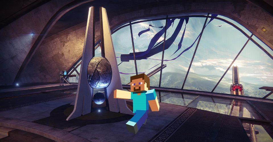 The Original Destiny In-GameMinecraft Players Are Recreating