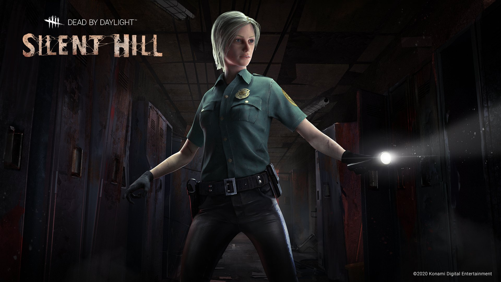 Cybil Bennett out of Silent Hill Dead by Daylight Presenting