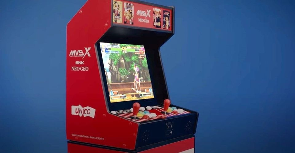 Machine Now Available for Pre-Order Classic SNK Arcade
