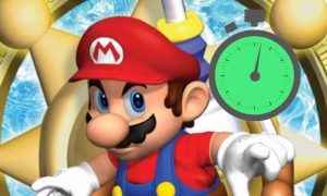 Super Mario 3D Player Speed Through Mission in 10 Seconds All-Stars Bug Lets