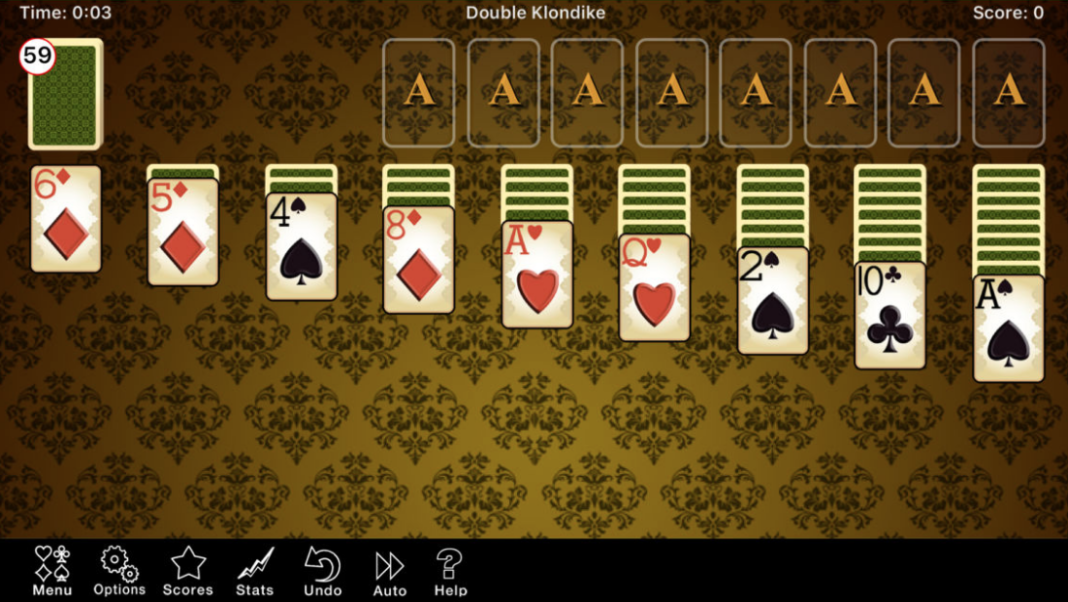 Double Klondike Solitaire PC Version Full Game Free Download