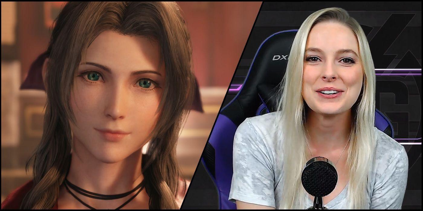 Final Fantasy 7 Remake Voice Actor Cosplays As Aerith