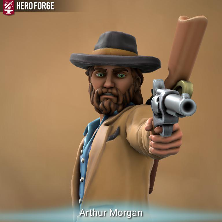 Red Dead Redemption 2 Fans Are Making Themed Miniatures