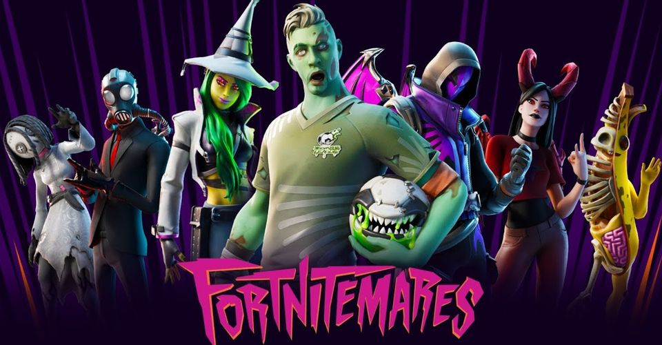 Fortnite Releases Papercraft Halloween Masks