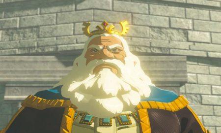 Hyrule Warriors: Age of Calamity Screenshots Show King Rhoam Leading Soldiers