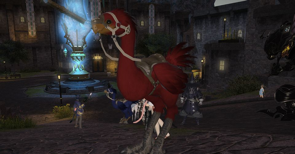 Final Fantasy 14 Players Are Getting Destroyed By a Chocobo