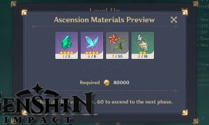 Genshin Impact Players Create Website to Determine Ascension Materials, Calculate Damage