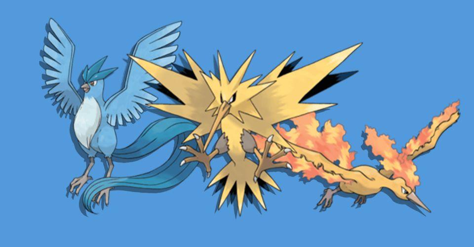 Pokemon Sword and Shield Legendary Bird Trio Are Found in the Wild