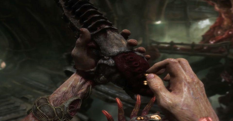 Horror FPS Scorn Shows New Xbox Series X Gameplay