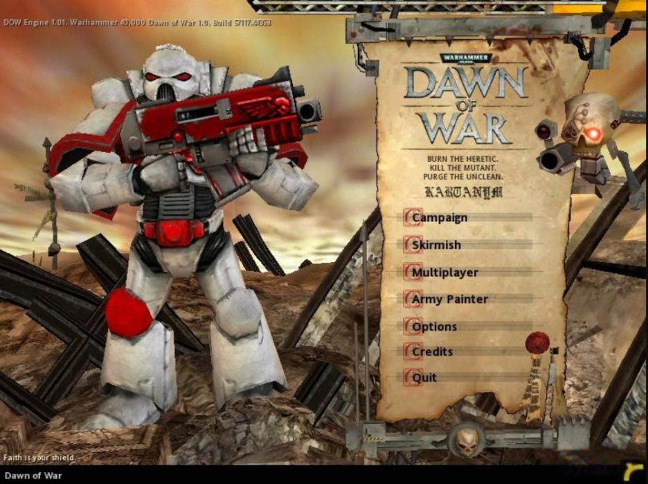 WarHammer 40.000: Dawn Of War PC Version Full Game Free Download