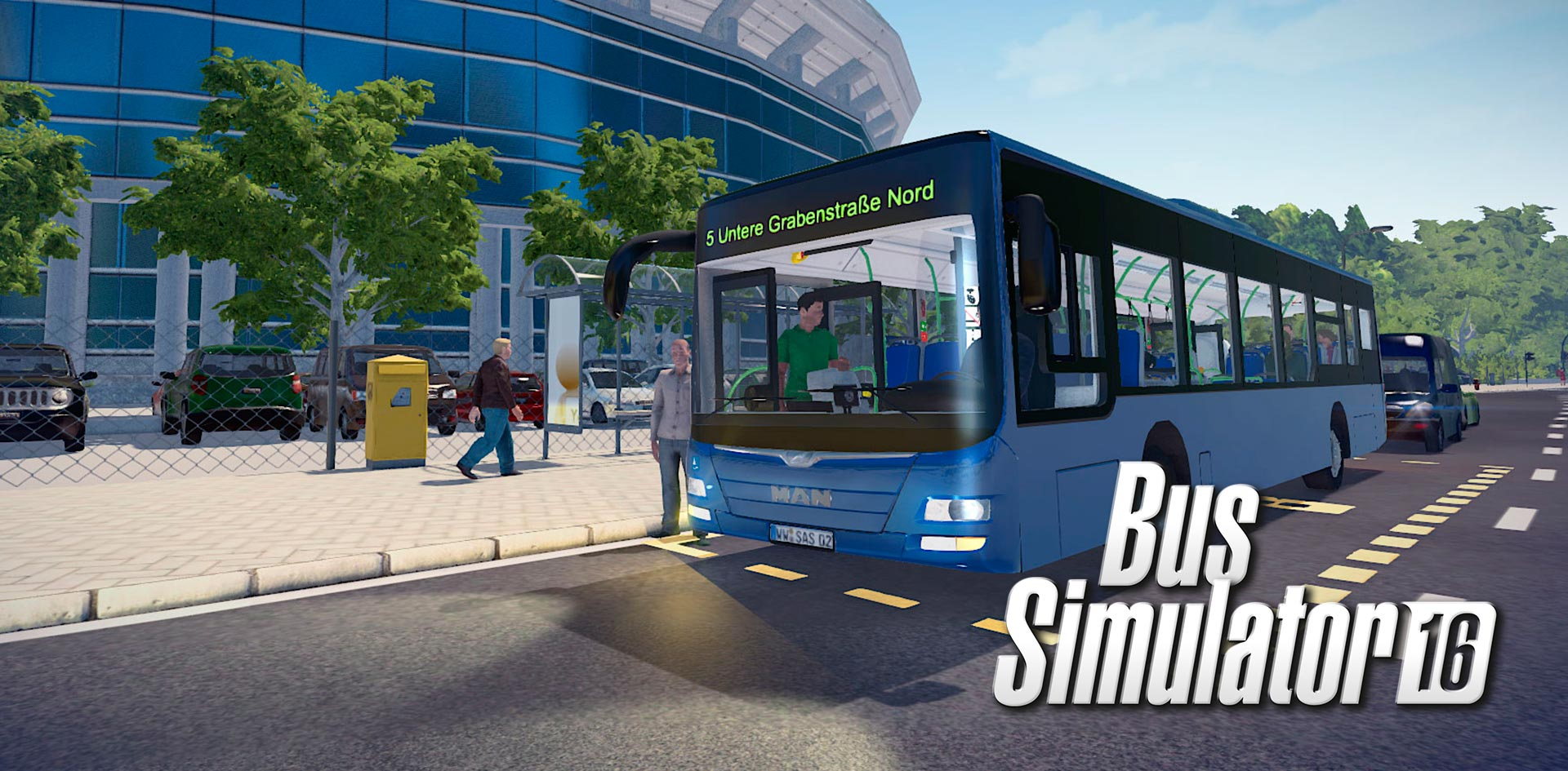 Bus Simulator 16 Game Full Version PC Game Download