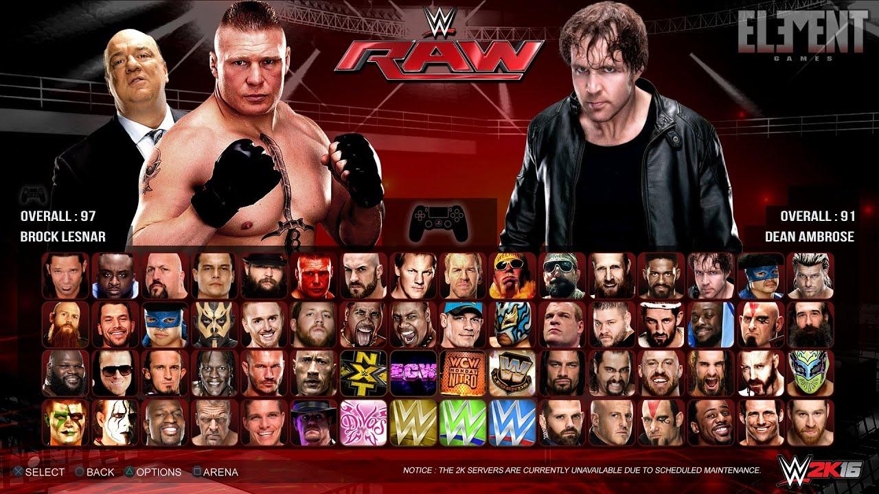 WWE 2K16 PC Version Full Free Download