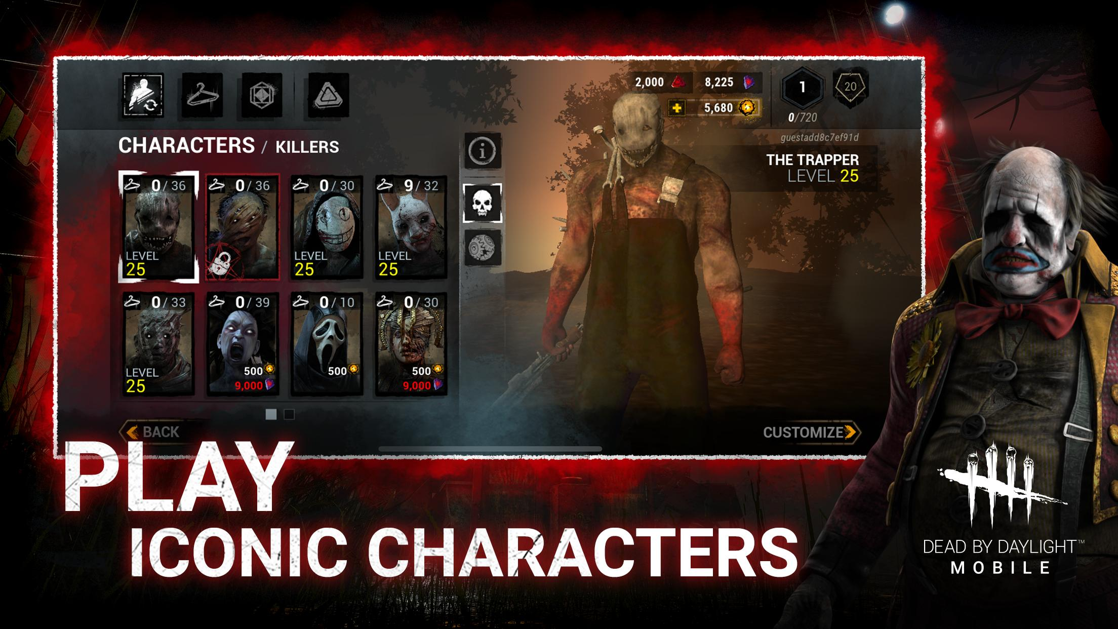 Dead by Daylight Apk iOS Latest Version Free Download