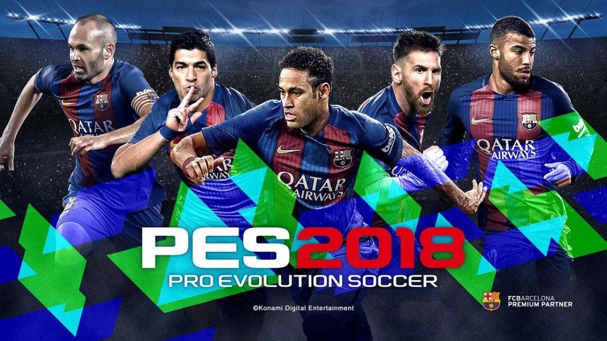 Pro Evolution Soccer 2018 iOS/APK Version Full Game Free Download