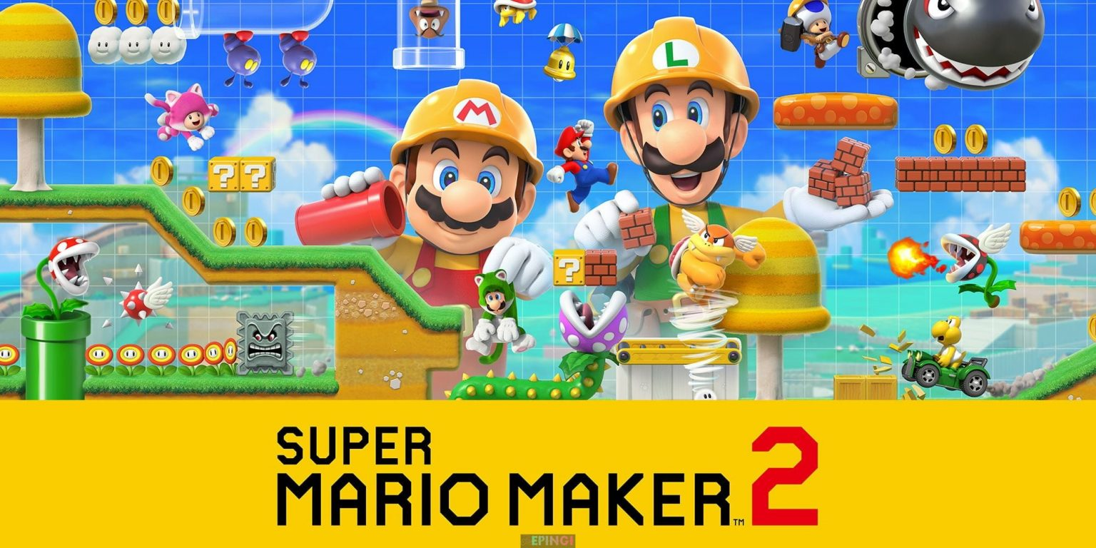 Super Mario Maker Unlocked PC Version Full Game Free Download