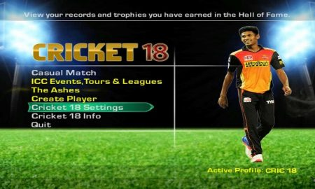 EA Sports Cricket 2018 PC Latest Version Game Free Download
