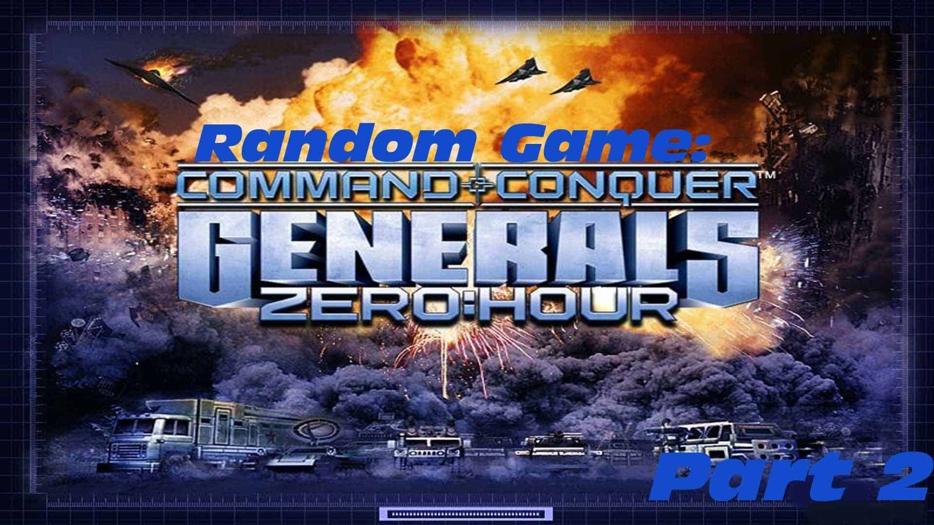 Command And Conquer Generals Zero Hour PC Version Game Free Download