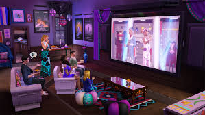 The Sims 4 Movie Hangout Stuff iOS/APK Version Full Game Free Download