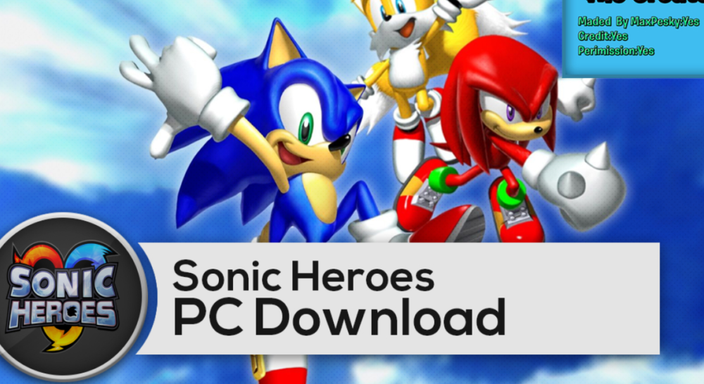 Sonic Heroes iOS/APK Version Full Game Free Download