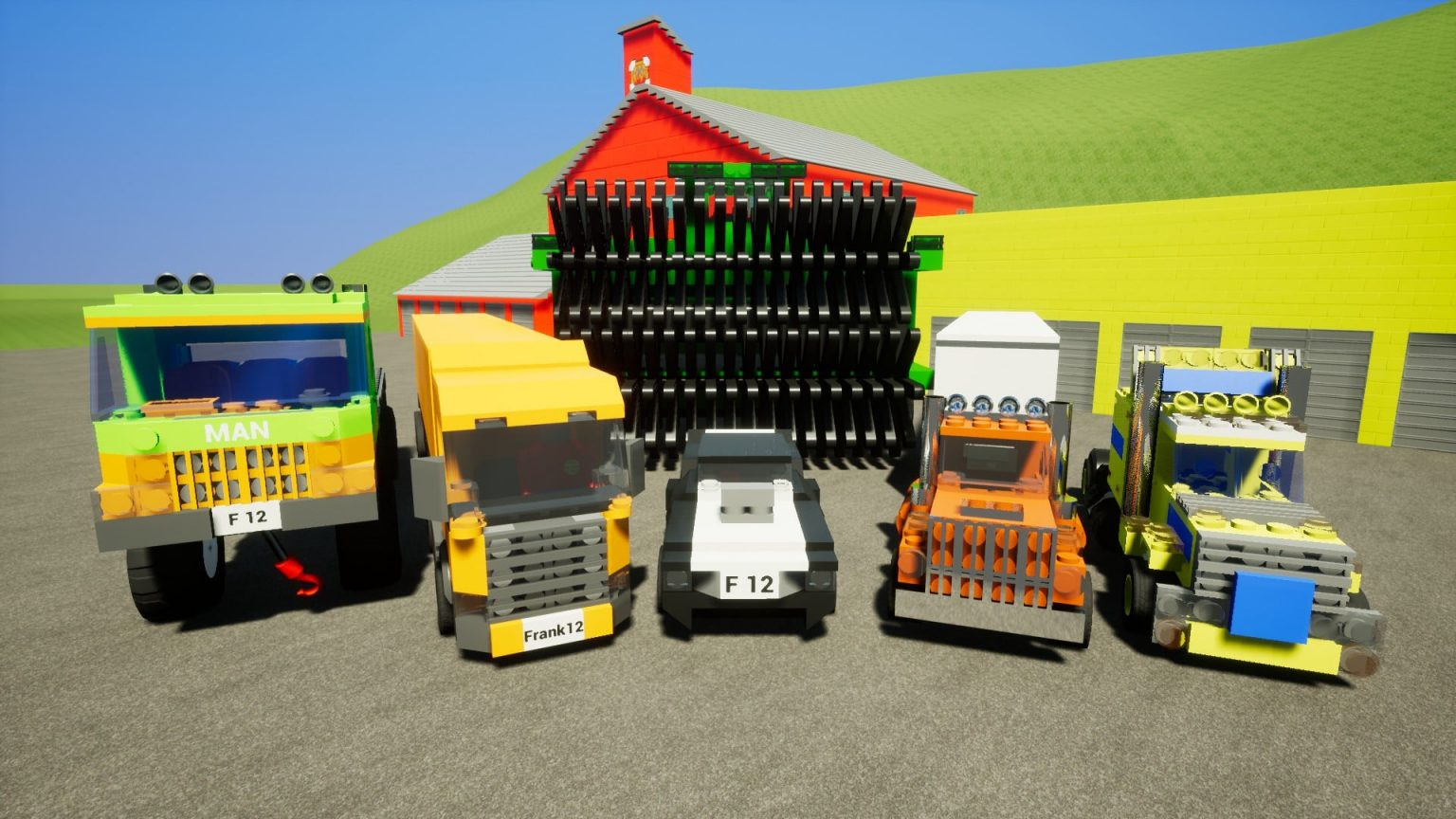 Brick Rigs Version Full Mobile Game Free Download