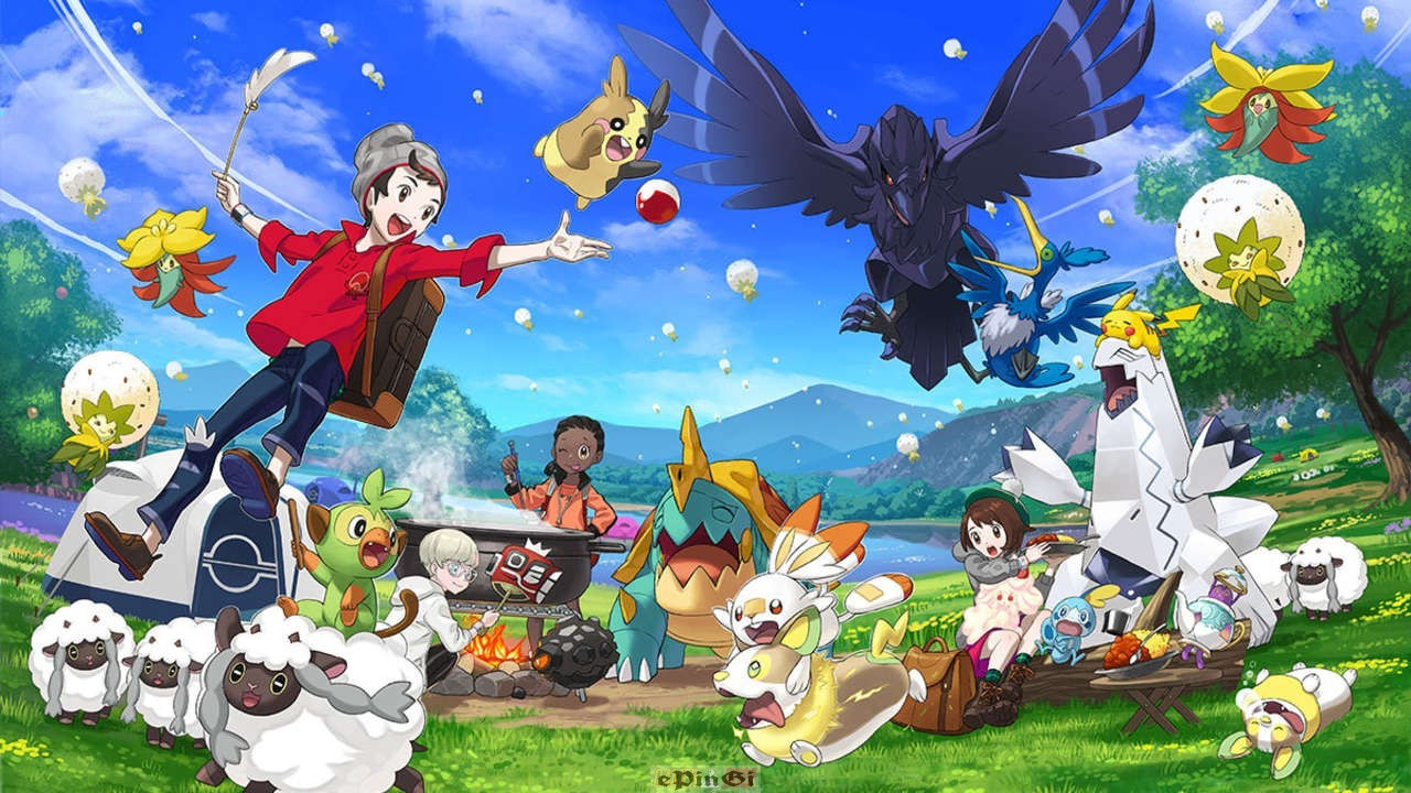 Pokemon Sword and Shield Nintendo Switch PC Version Game Free Download