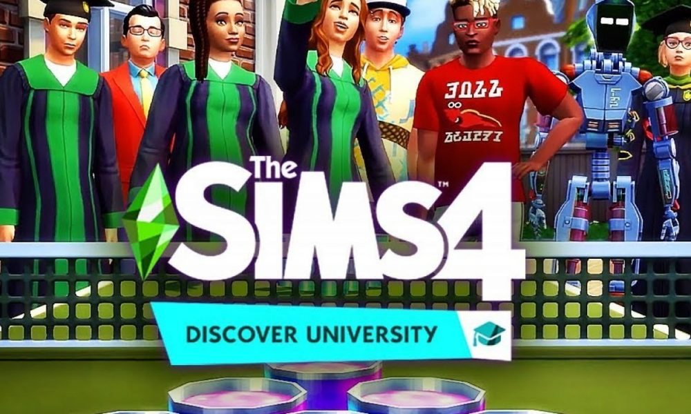 The Sims 4 Discover University Nintendo Switch PC Latest Version Game Free Download