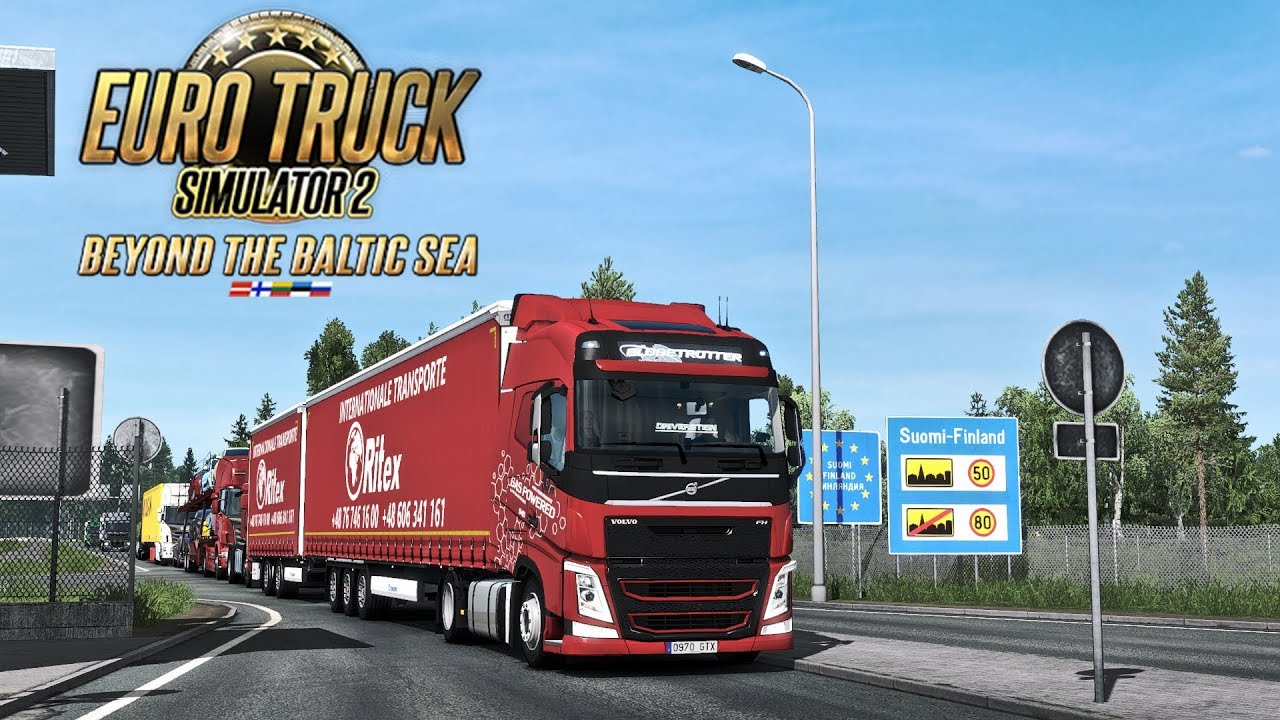 Euro Truck Simulator 2 Beyond the Baltic Sea PC Latest Version Game Free Download