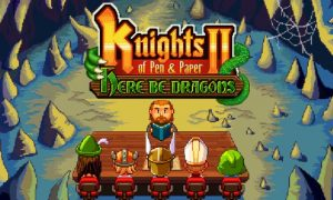 Knights of Pen and Paper 2 Here Be Dragons PC Version Full Game Free Download