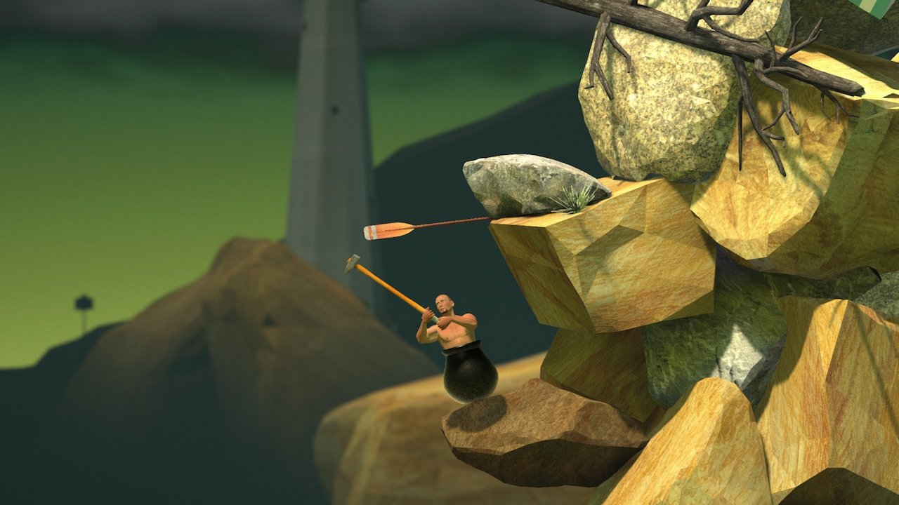 Getting Over It with Bennett Foddy Android/iOS Mobile Version Full Free Download