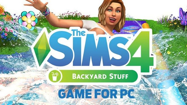 The Sims 4 Backyard Stuff PC Full Version Free Download