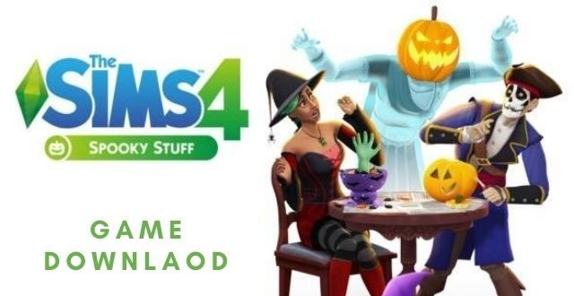 The sims 4 spooky stuff PC Version Download