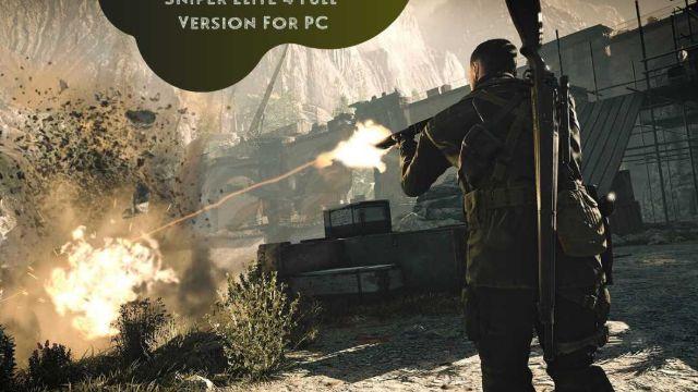 Sniper Elite 4 iOS/APK Full Version Free Download