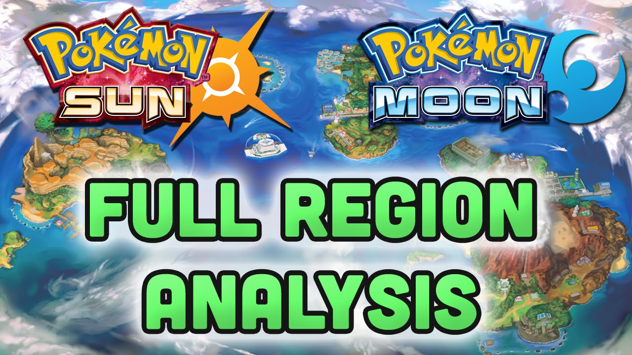 Pokemon Sun And Moon Region Android/iOS Mobile Version Full Free Download