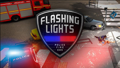 Flashing Lights Police Fire EMS PC Game Free Download