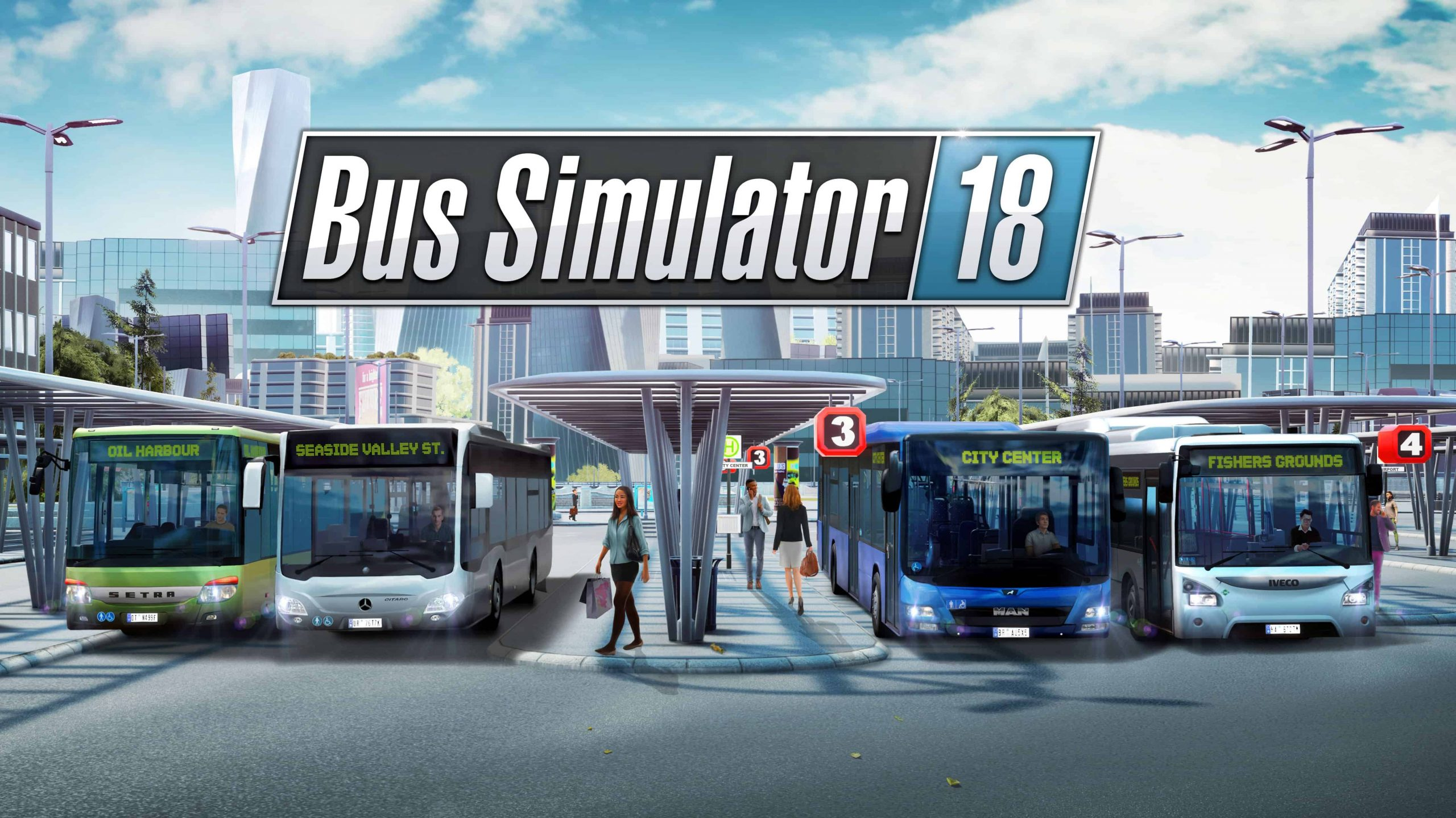 Bus Simulator 18 PC Latest Version Free Download