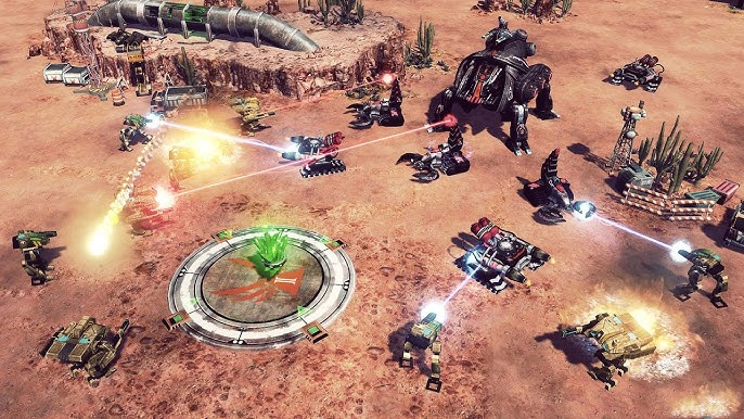 Command and Conquer 4 Tiberian Twilight PC Version Free Download