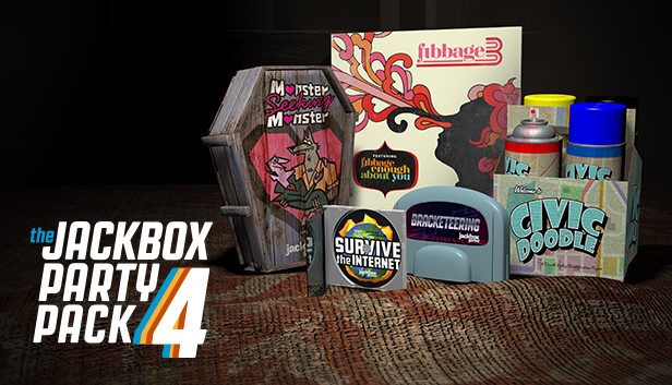 The Jackbox Party Pack 4 PC Version Download